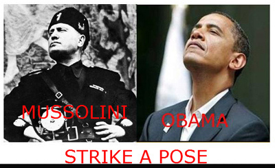 ObamaMussolini