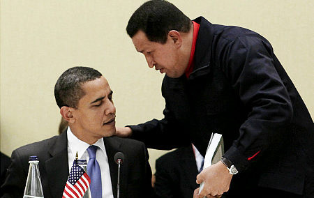 Hugo Chavez - Obama