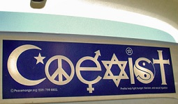Coexist-Stciker