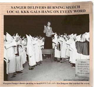 Margaret Sanger and KKK