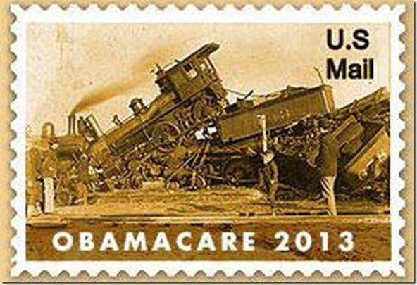 The Gruberized train-wreck that is Obama-care . A song.