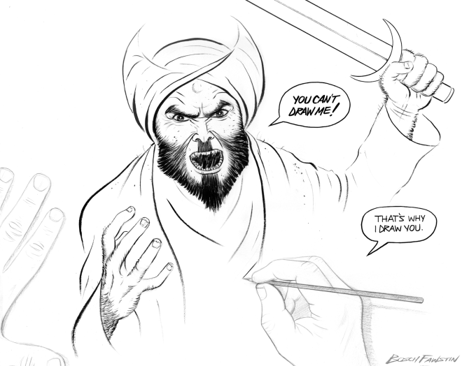 Mohammad Contest Drawing