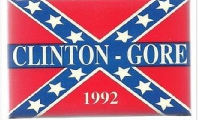 Clinton-Gore-Confederate-Flag1