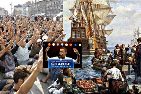 If Pilgrims were refugees, are Refugees Pilgrims? ALimerick.