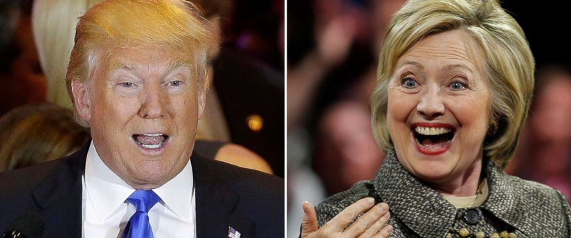 A Limerick comparison of Donald Trump and Hillary Clinton.