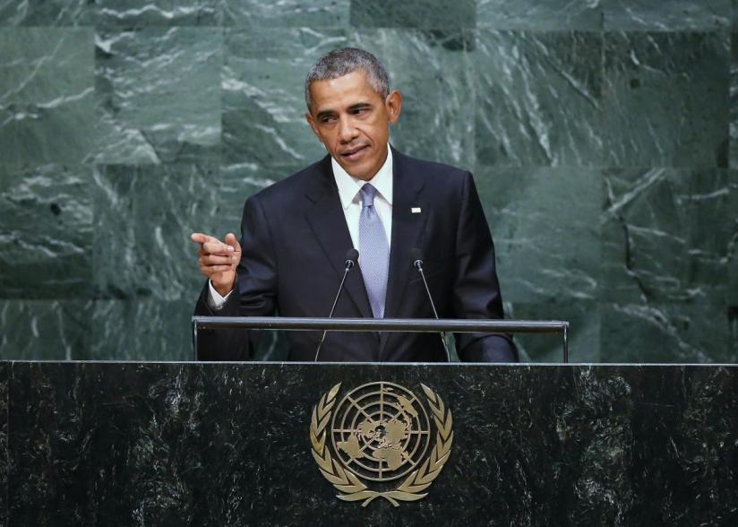 President Obama took the campaign to the UN. ALimerick.