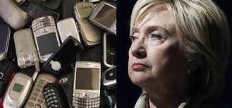One more verse to the Hillary Nursery rhyme: Hillary lost her devices..