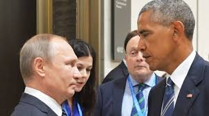 Obama blames Russia for Hillary's loss.