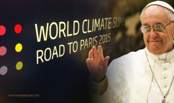 The Pope: Priests to preach global warming.