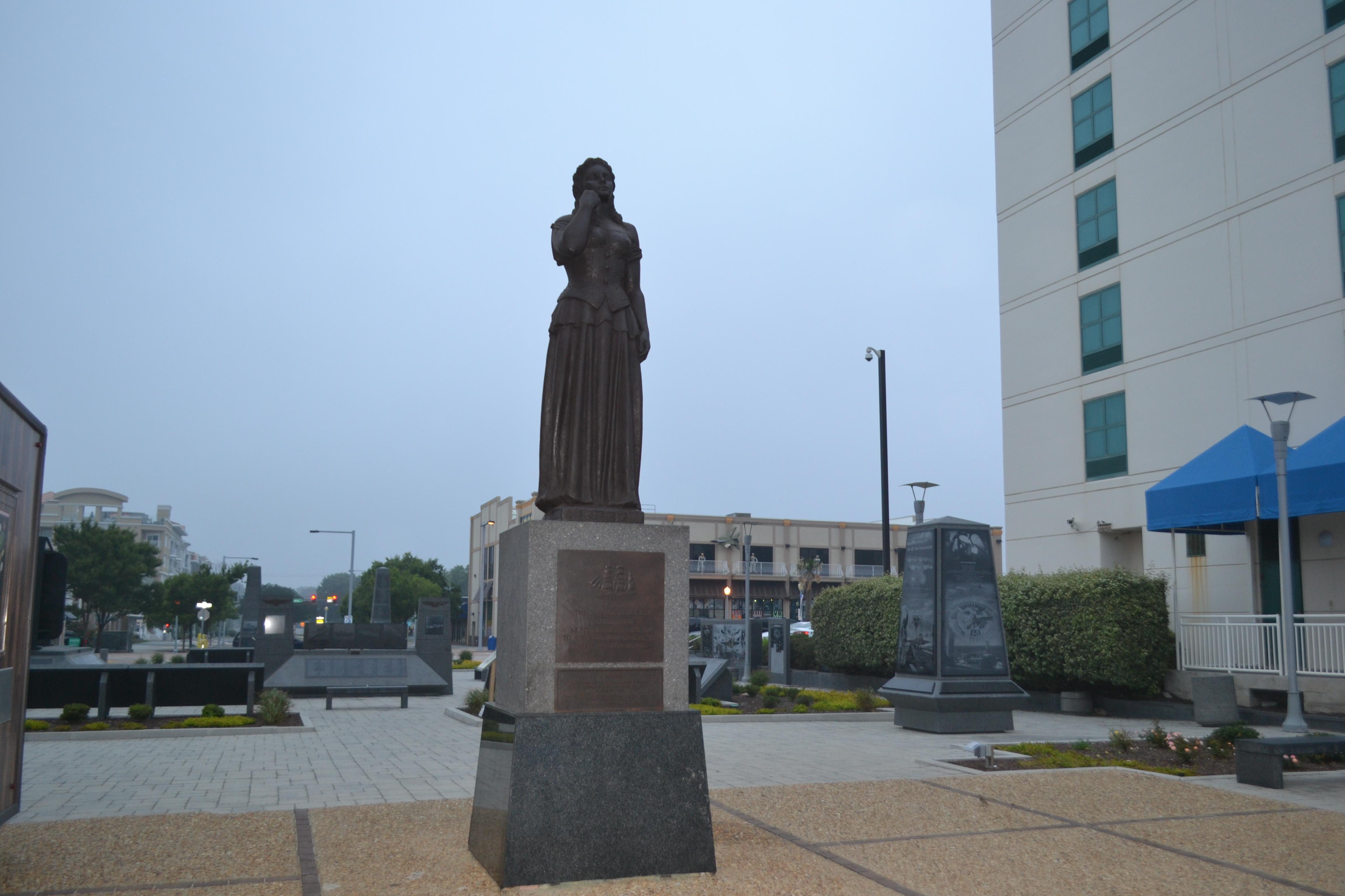 Virginia Beach Norwegian Lady Statue