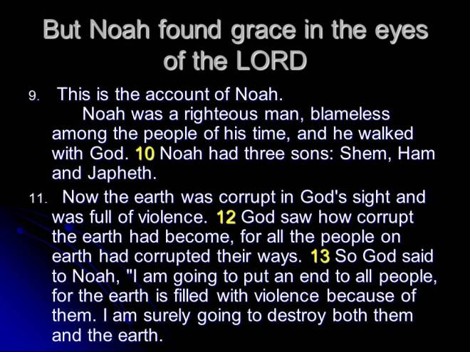 noah the righteous man In the story of noah, we see why noah was righteous and how he responded to god out of his righteousness.