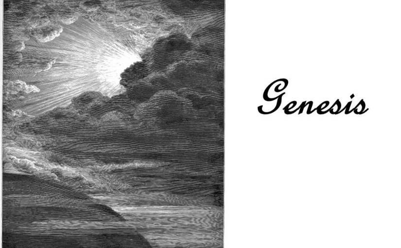 Genesis 7, the flood.