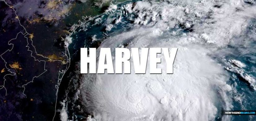 The different responses to hurricane Katrina and Harvey.