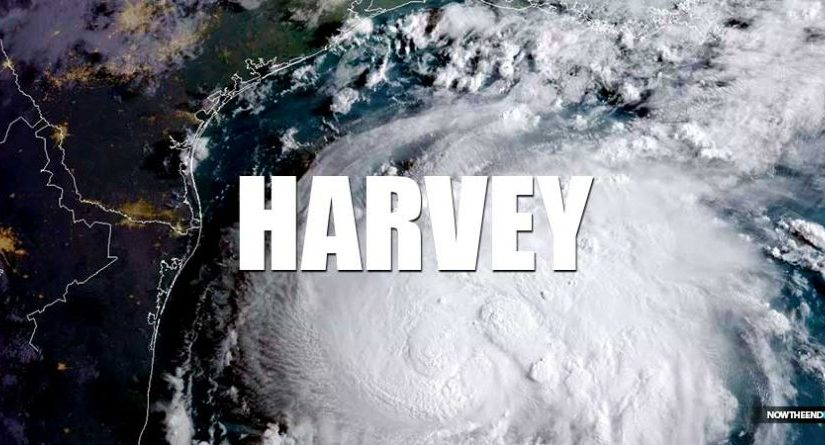 The different responses to hurricane Katrina andHarvey.