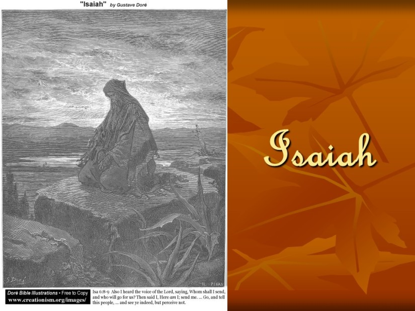 Isaiah 64, a Prayer of petition and penance.
