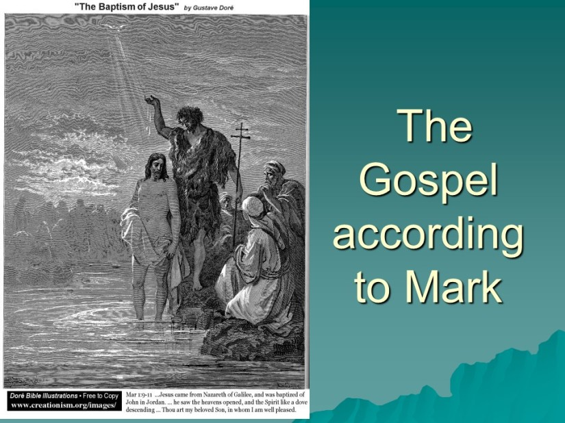 Mark 14, Jesus anointed at Bethany, the Lord's Supper, Peter's Denial Predicted, Gethsemane, Jesus Arrested, Before the Sanhedrin, Peter's denial.