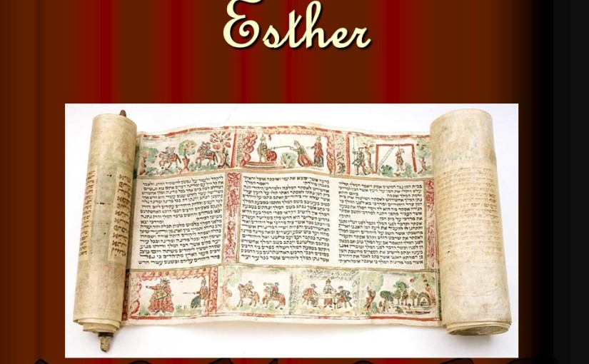Esther 3, Haman's plot for genocide against the Jews.