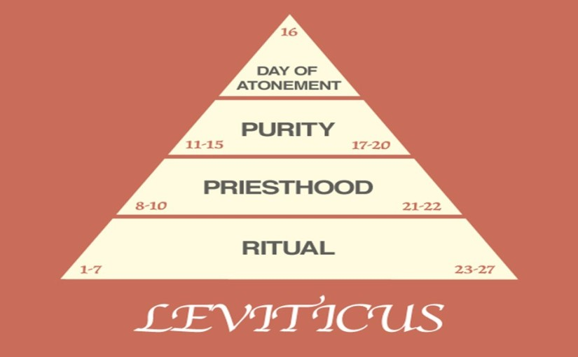 Leviticus 14, the Ritual for Cleansing healed Lepers, the Law on cleansing from Mildew.