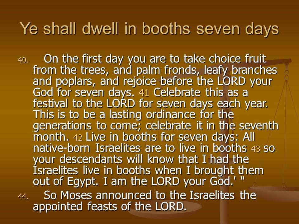 Leviticus23