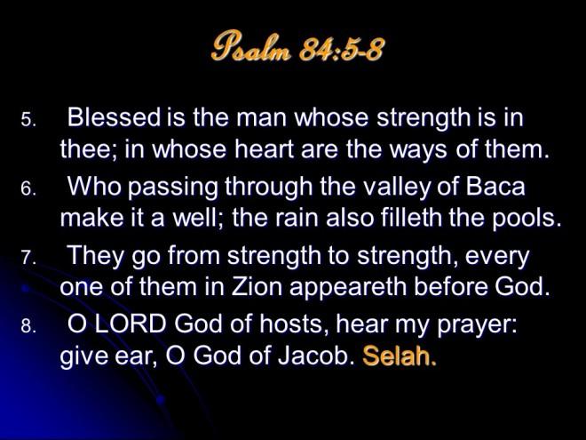 PSALMS84
