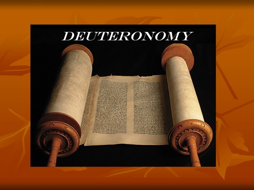 Deuteronomy 8, Remember the LORD your God.