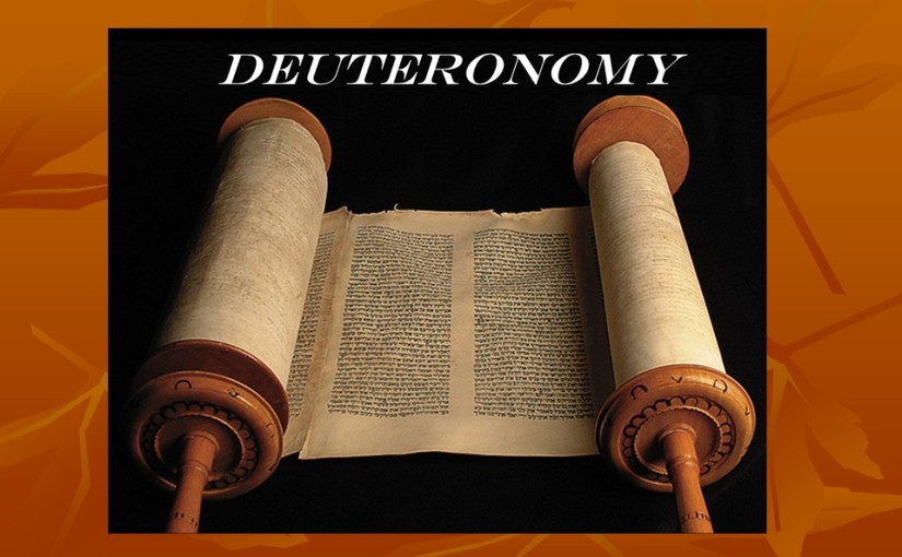 Deuteronomy 16, The Passover, The Feast of Weeks, The Feast of Tabernacles, Justice Administered.