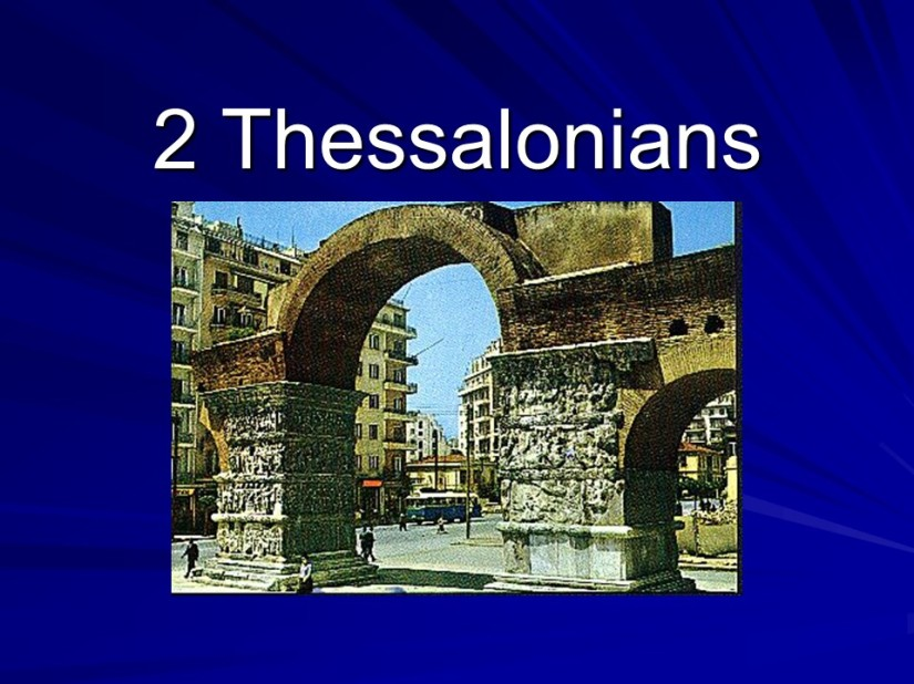 2 Thessalonians 1, Greeting, God's Final Judgment, God's Glory.