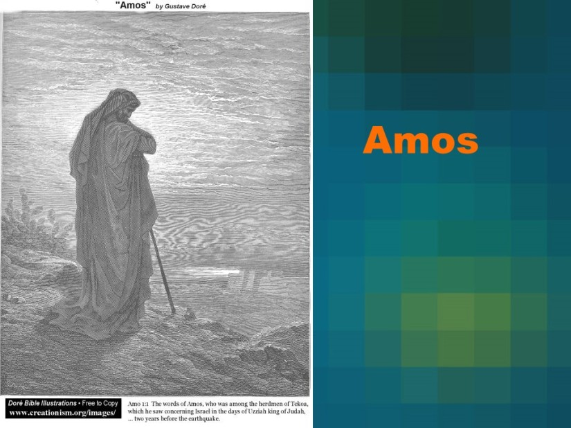 Amos 5, A Lament for Israel, Call to Repentance, The Day of the LORD.