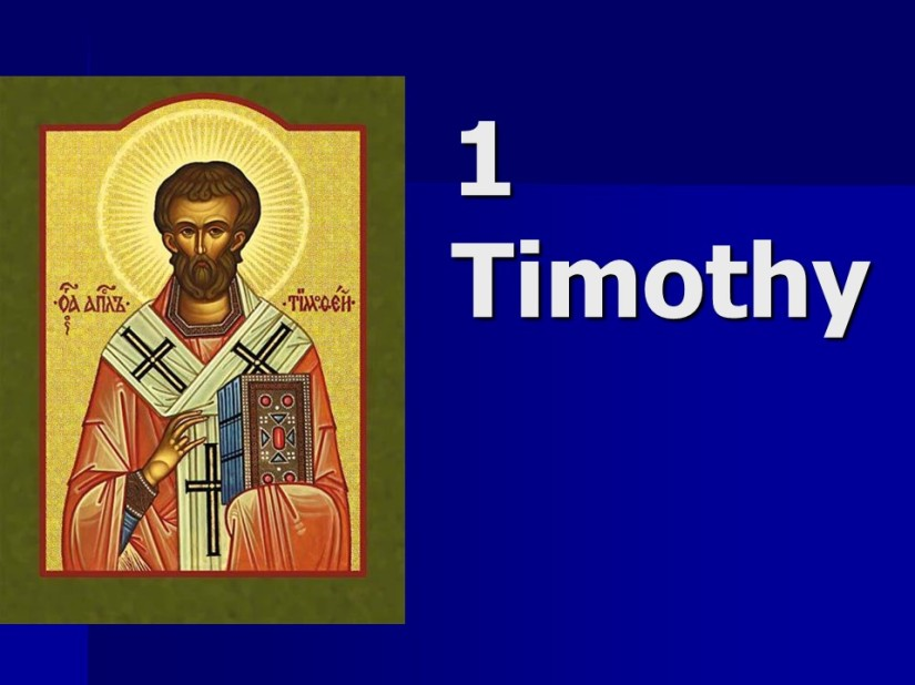 1 Timothy 1, Greeting, No Other Doctrine, Glory to God for His Grace, Fight the Good Fight.