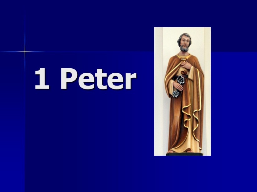 1 Peter 5, Shepherd the Flock, Submit to God, Resist the Devil, Farewell andPeace.