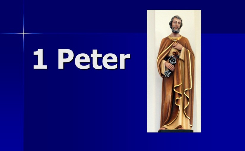 1 Peter 5, Shepherd the Flock, Submit to God, Resist the Devil, Farewell and Peace.