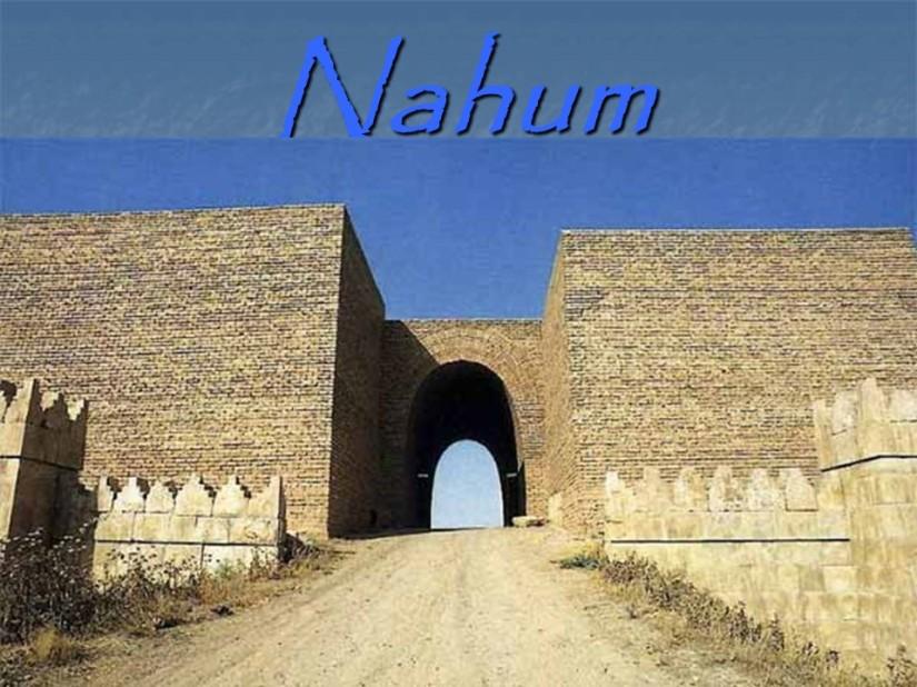 Nahum 3, The Woe ofNineveh.