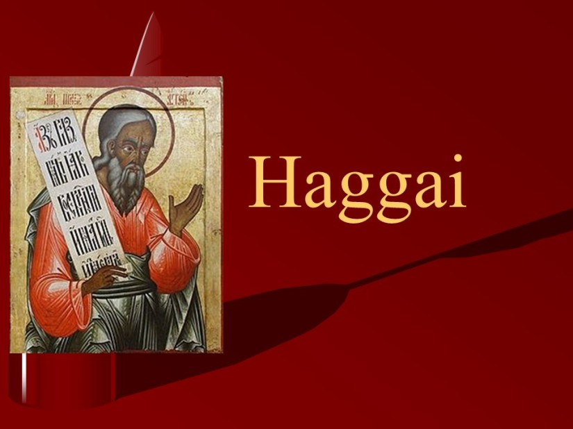 Haggai 2, The Coming Glory of God's House, The People are Defiled, Promised Blessing, Zerubbabel Chosen as aSignet.