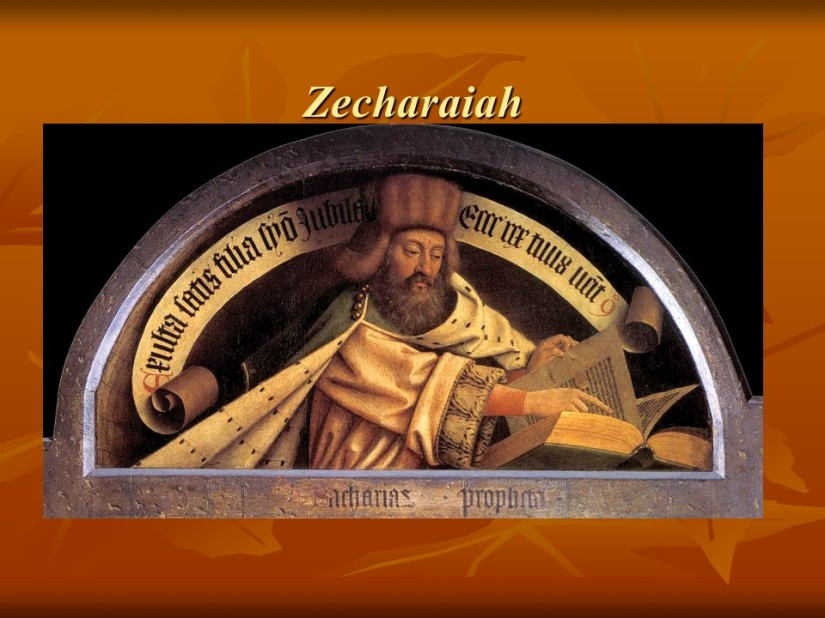Zechariah 8, Jerusalem, the Future Holy City.