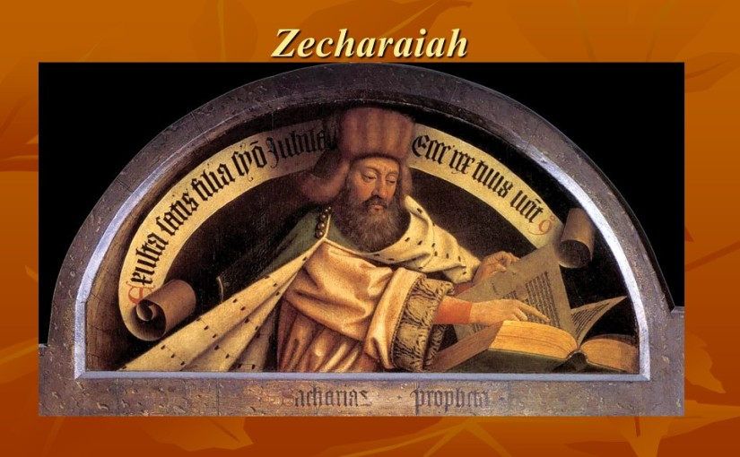 Zechariah 1, A Call to Repentance, Vision of the Horses, The LORD will Comfort Zion, Vision of the Horns.