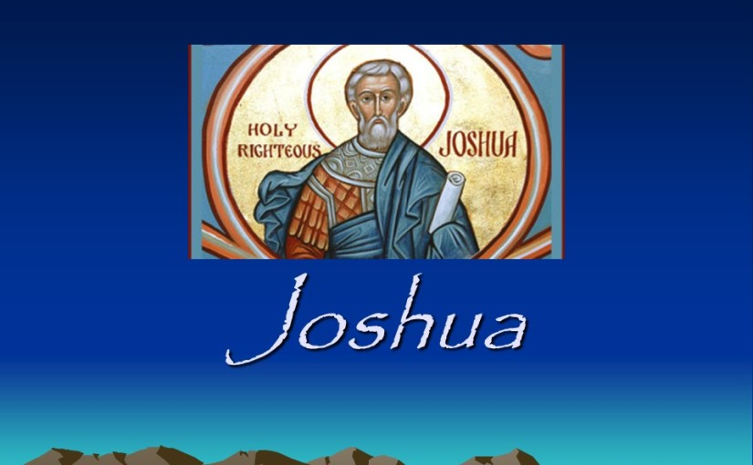 Joshua 22, Eastern Tribes Return to their Lands, An Altar by the Jordan.