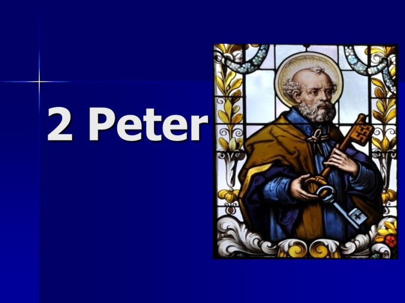 2 Peter 1, Greeting the Faithful, Fruitful Growth in the Faith, Peter's Approaching Death, The Trustworthy Prophetic Word.