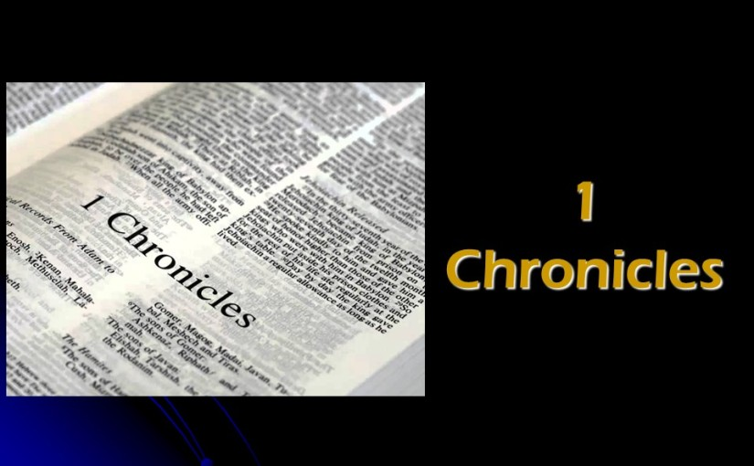 1 Chronicles 10, Death of Saul and his Sons.