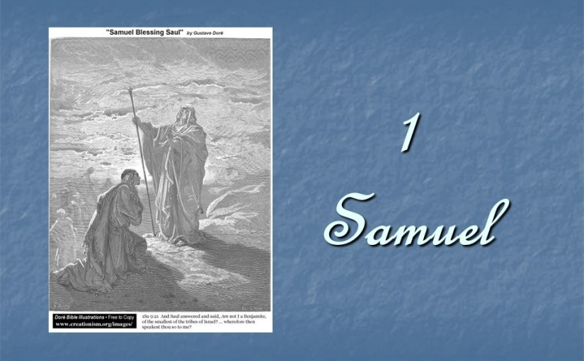 1 Samuel 13, Saul's Unlawful Sacrifice, No Weapons for the Army.