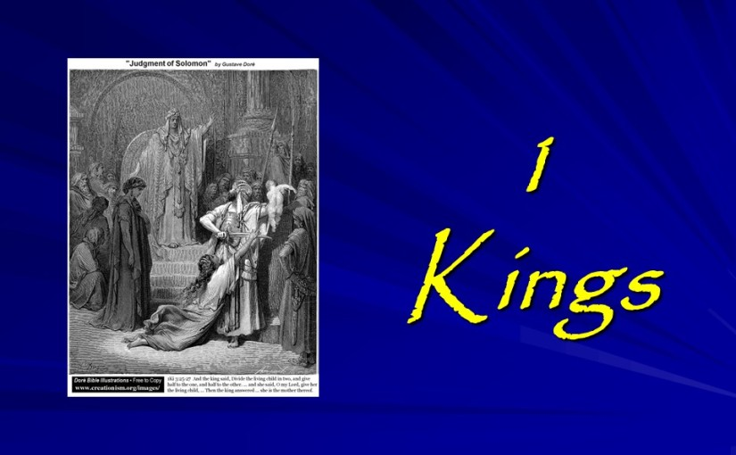 1 Kings 1, Adonijah Promises to be King, David Proclaims Solomon King.
