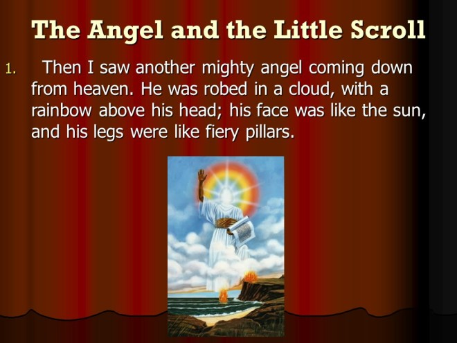 Thought On Thanksgiving >> Revelation 10, The Mighty Angel and The Little Book, John Eats the Little Book. – Len Bilén's ...