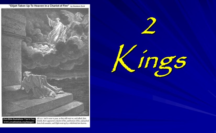 2 Kings 2, Elijah Ascends to Heaven, Elisha Performs Miracles.