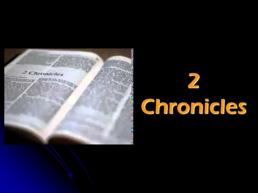 2 Chronicles 12, Egypt Attacks Judah, The end of Rehoboam's Reign.