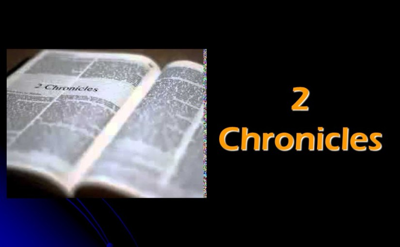 2 Chronicles 6, Solomon's Speech when the Work was Completed, Solomon's Prayer of Dedication.