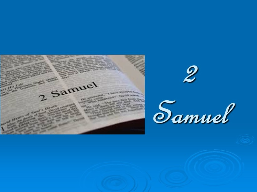 2 Samuel 11, David, Bathsheba, and Uriah.