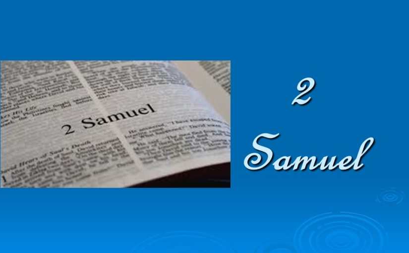 2 Samuel 7, God's Covenant with David, David's Prayer of Thanksgiving.