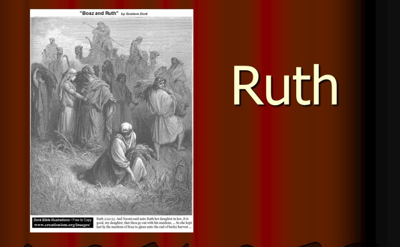 Ruth 1, Elimelech's Family goes to Moab, Naomi Returns with Ruth.