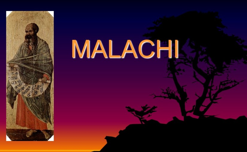 Malachi 1, Israel Beloved of God, Polluted Offerings.