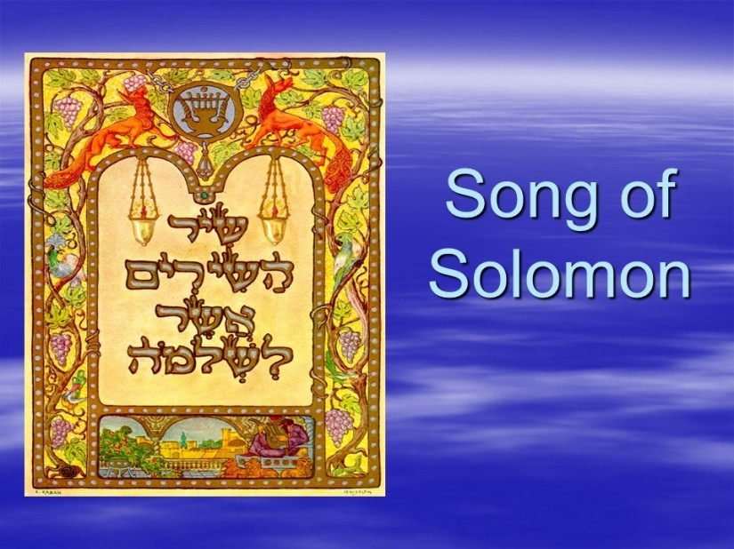 Song of Solomon 1, the Banquet.