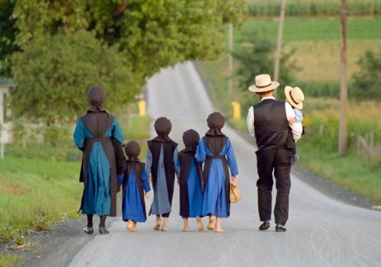 Long live the Amish! – Off the grid.